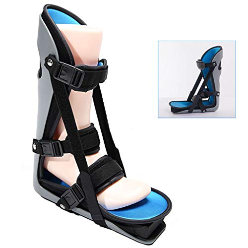 XMJESS Foot Night Splint Adjustable Foot Protectors Guard Foot Brace Support for Plantar Fasciitis. Achilles Tendonitis (Large)