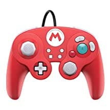 PDP 500-100-NA-D1 Nintendo Switch Super Mario Bros Mario GameCube Style Wired Fight Pad Pro Controller