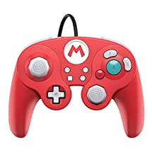 PDP Gaming Super Mario Bros Wired Fight Pad Controller: Mario GameCube Inspired - Nintendo Switch