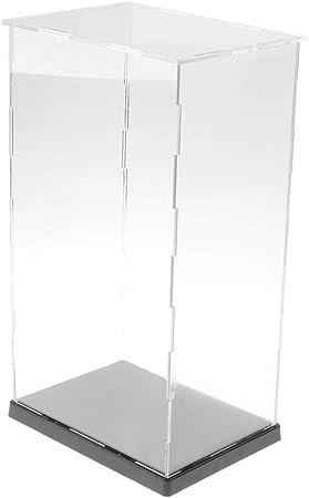 IPOTCH Vítrina de Acrílico Caja de Exposición Presentación Transparente para Colecciones de Figuras de Acción 3D - 14 x 19 x 34cm: Amazon.es: Hogar