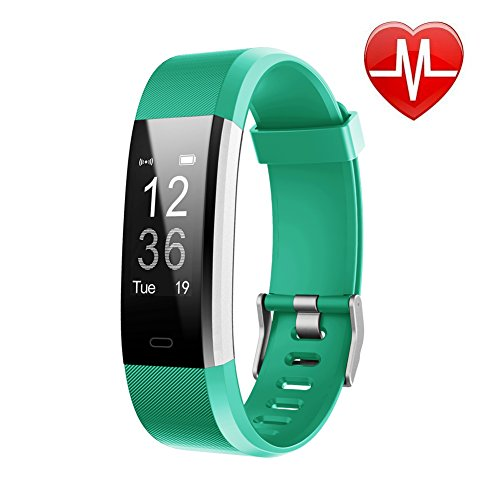 LETSCOM Fitness Tracker HR, Activity Tracker Watch with Heart Rate Monitor, Waterproof...