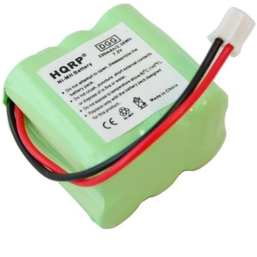 HQRP Battery for Sportdog Upland-Hunter 1850 SD-1850 Remote Controlled Dog Training Collar Transmitter plus HQRP Coaster