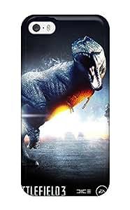 Iphone 5/5s Case Cover Skin : Premium High Quality Battlefield 3 Dinosaur Mode Case
