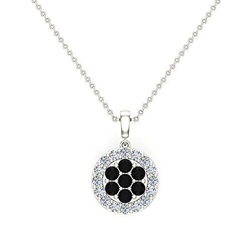 Black Diamond Cluster Pendant - 2