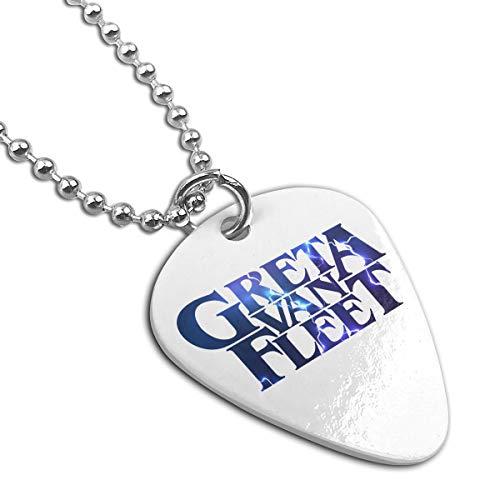 Greta AVan AFleet Guitar Pick Pendant Necklace Keychain (Guitar Chords For Lead Me By Sanctus Real)