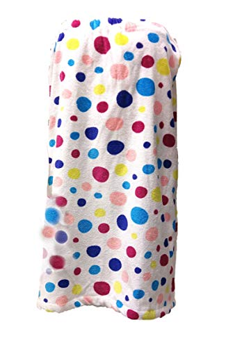 (byLora Shower Terry Wrap Towel for Women Bath Shower Towels - Multi-Color - XXL)