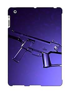 Fireingrass High Grade Flexible Tpu Case For Ipad 2/3/4 - Digital 3d Usc Glass Gun ( Best Gift Choice For Thanksgiving Day)