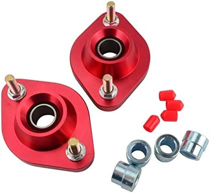 PTNHZ Rear Upper Strut Mount Pair Set Compatible for BMW E30 E36 E46 Z3 Pillow Ball Plate Coilovers