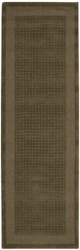 Nourison Westport (WP20) Mocha Runner Area Rug, 2-Feet 3-Inches by 8-Feet  (2'3