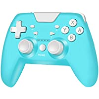 RegeMoudal Wireless Controller for Nintendo Switch (Turquoise)
