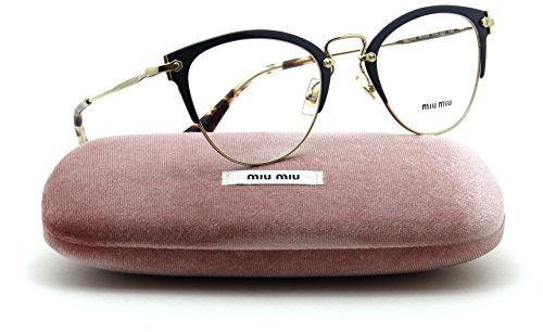 Miu Miu MU 50QV Women Cat Eye RX Eyeglasses VYH-1O1 - Miu Glasses Miu Reading