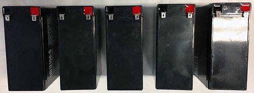 12V 10AH SLA Replacement Battery for APC Back-UPS ES USB 650 - 5 Pack