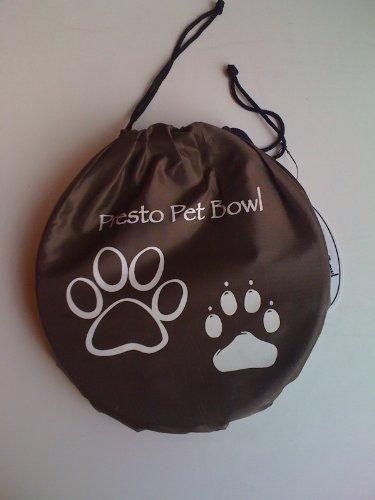 Presto Buckets Pet Bucket, 1-Gallon, Brown