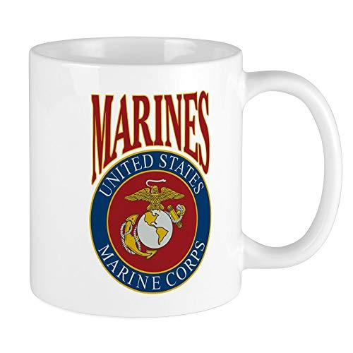 - Mug Mega Size (Coffee Drink Cup) US Marines Marine Corps Emblem