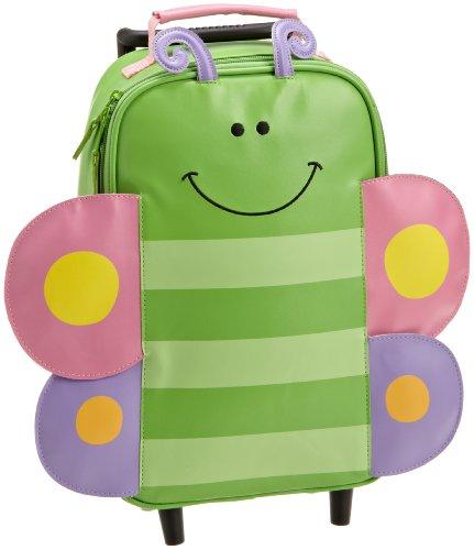 Stephen Joseph Rolling Backpack, Butterfly