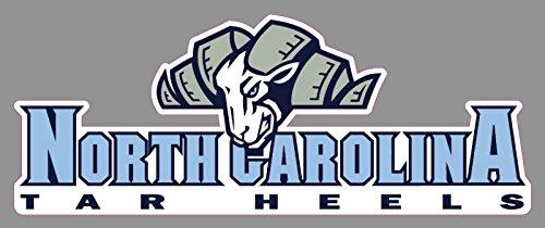 North Carolina Tarheels Window Sticker  9