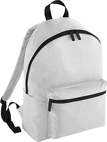 Grab Silver Slip Bag Backpack Pocket Handle Straps Size One Studio Bagbase Shoulder 4H7Yq