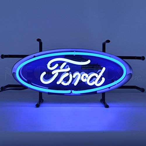 Neonetics Ford Oval Junior Neon Sign (Neon Signs Ford)