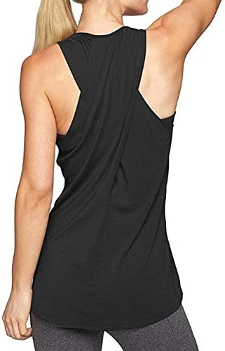 HELUNSTX Cruz de Espalda para Mujer Camisa de Yoga Sin Mangas Espalda Entrenamiento Camiseta sin Mangas Activa Gimnasio Chaleco Deportivo Camisa sin Mangas Gimnasio: Amazon.es: Deportes y aire libre