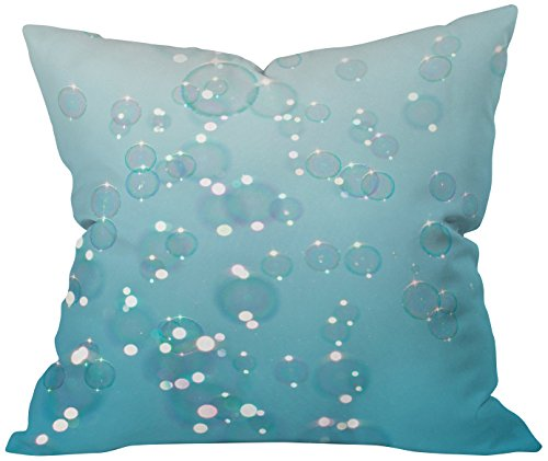 Deny Designs Bree Madden Bubbles In The Sky Throw Pillow, 26 x 26 (Bree Bubbles)