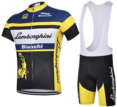 Wolfure WF - Ropa de ciclismo para hombre. Bragas y camiseta. Con ...