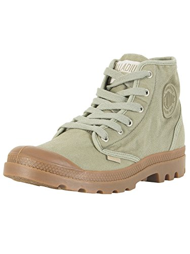 Palladium Men's Pampa Hi-Top Trainers Green eWoNZ3K