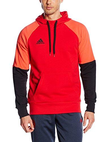 adidas Teamsport Sweatshirt CON16 Hoody (L, Scarlet/Black/Bright Red)