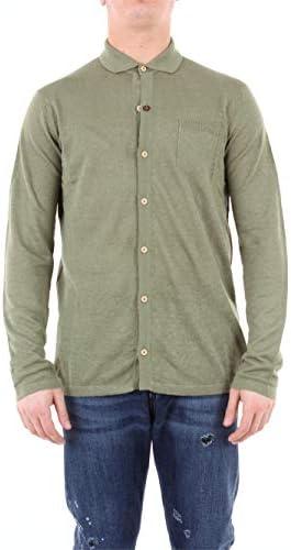 Luxury Fashion   Heritage Man 0233M2ZVERDE Green Viscose Cardigan   Season Outlet / Luxury Fashion   Heritage Man 0233M2ZVERDE Green Viscose Cardigan   Season Outlet