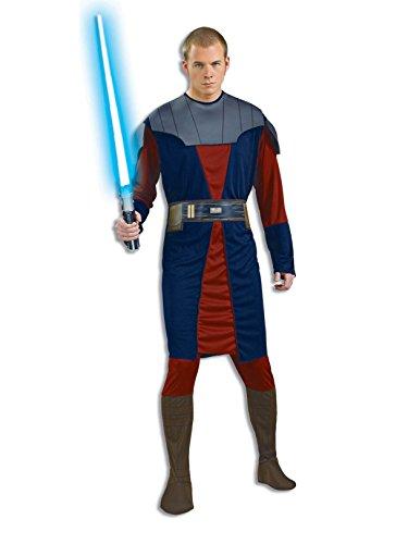 Rubie's Men's Star Wars Clone Adult Anakin Skywalker, Multi, X-Large ()