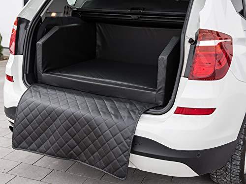 CopcoPet Travel Bed 90x70cm / Hunde-Reisebett aus Kunstleder/Hunde-Autobett/Wasserabweisende Tiermatratze/Hundebett mit…