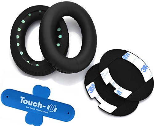 Ear Pads Cushion for Bose QuietComfort 2, QuietComfort 15, QC2, QC15, AE2, AE2i , QC25 Headphone Replacement Cushion