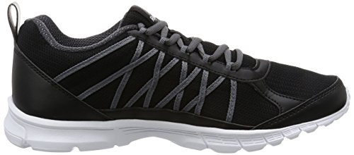 Reebok Speedlux 2.0, Zapatillas de Trail Running para Hombre Negro (Black /             Ash Grey /             Pewter /             White)