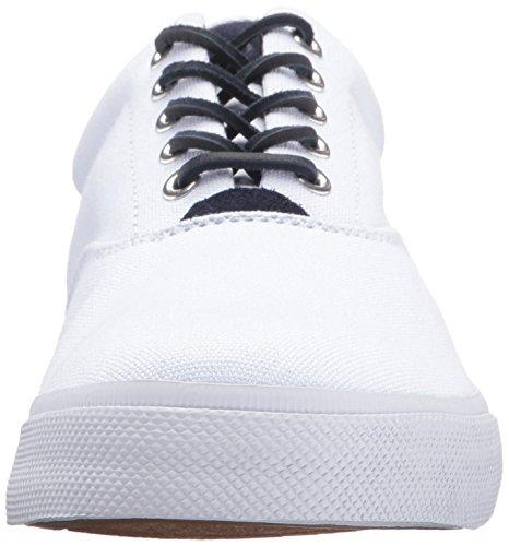 Ralph Lauren Polo Vaughn Canvas Basket Fashion Sneaker - Pure White