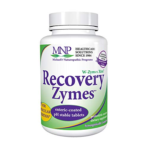 Michael's Naturopathic Programs W-Zymes Xtra RecoveryZymes- 10X Pancreatin 1000 TB