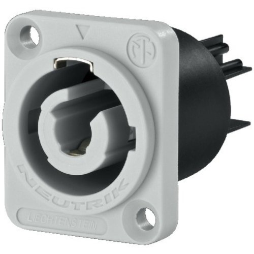 Neutrik 250V/20A de alimentació n del panel Conector de salida Jack Monacor 34.8780