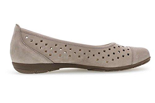Gabor Grey Ballet Flats Casual Women's XFwzWrFUqg