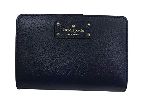 Embossed Leather Blazer - Kate Spade New York Tellie Grove Street Embossed Leather Wallet Blazer Blue