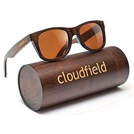 Wood Sunglasses Polarized for Men and Women - Bamboo Wooden Sunglasses Sunnies - Fishing Driving Golf 7 HANDMADE WOOD SUNGLASSES