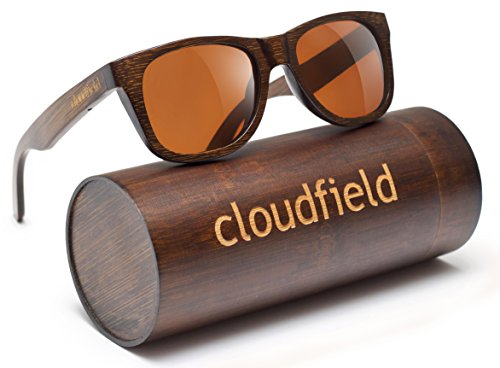 Wood Sunglasses Polarized for Men and Women - Bamboo Wooden Sunglasses Sunnies - Fishing Driving Golf woodies westwood treehut texas paul frank kreed pirana hawkers blenders sunski aunglasses kz 1 HANDMADE WOOD SUNGLASSES