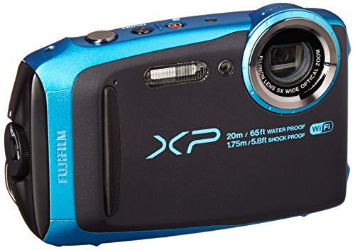 Fujifilm FinePix XP120 Waterproof Digital Underwater Camera USA Model (Sky Blue) ()