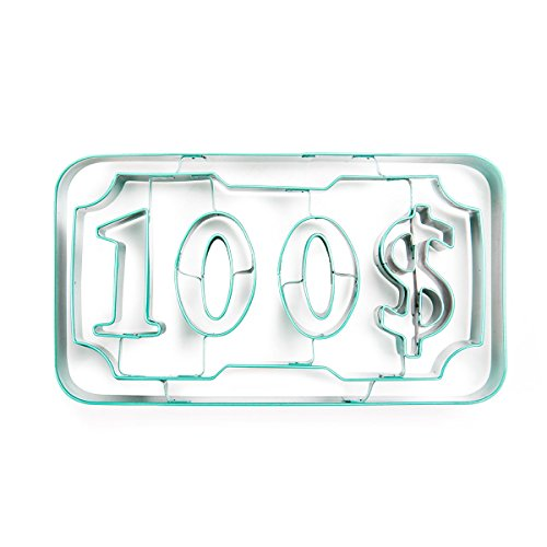 Cool & Unique Stainless Steel made Cookie Cutter featuring money for kids ()