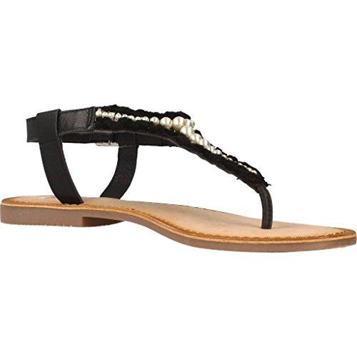 Mujer Gioseppo 45338 Para Sandalias Plataforma Negros Con Rwx1wXqF7