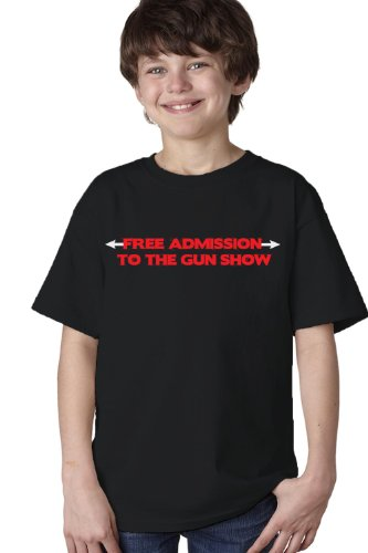 FREE ADMISSION TO THE GUN SHOW Youth T-shirt / Weight Lifting, Crossfit Training Tee
