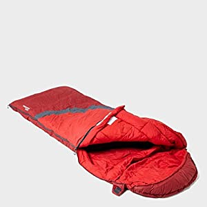 Berghaus Transition 200C Childrenâ€s Sleeping Bag, Red, One Size