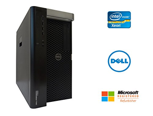 Dell Precision T7600 Workstation Intel Xeon 16 Core 2.9GHz 128GB RAM 10TB SSD + HD NVIDIA GeForce GTX 1080 8GB Graphics CD/DVDRW Windows 10 Pro 64-bit