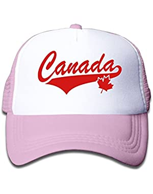 Canada Maple Youth Toddler Mesh Hats Boys and Girl Baseball Trucker Cap