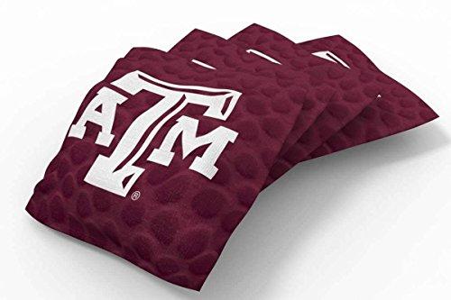 Bean Bag Texas A&m - PROLINE NCAA College Texas A&M Aggies Pigskin Bean Bag, Team Color, 6