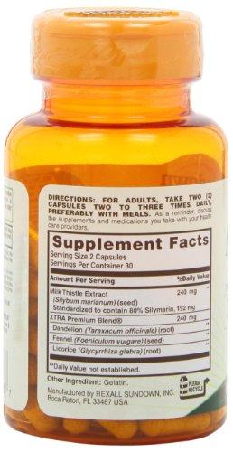 Sundown Naturals Milk Thistle 240 mg, 60 Capsules by Sundown Naturals (Image #7)