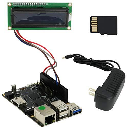 Iconikal Rockchip RK3328 4K 60P Single Board Computer A53 64-Bit Processor, 1GB 1866MHz LPDDR3 RAM, USB 3.0