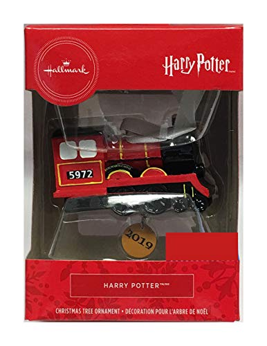 HARRY POTTER Hallmark 2019 Hogwarts Express Christmas Ornament (Decor Ornament Studio Christmas)